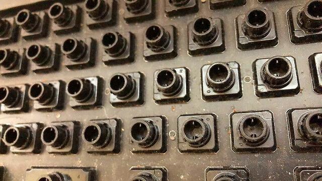 キーボード内部の拡大1