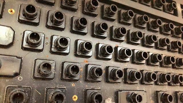 キーボード内部の拡大2