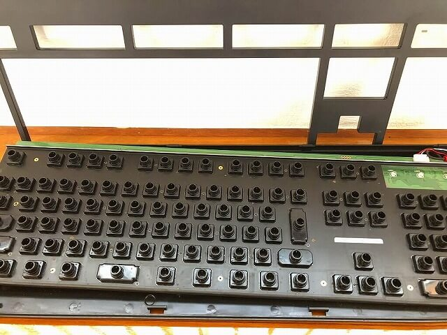 東プレのキーボード「Realforce108UDK」内部の掃除後1