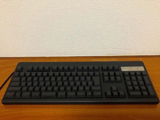 東プレのキーボードのキートップをセット