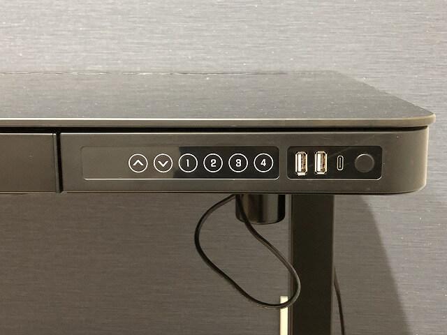 FLEXISPOT 電動昇降スタンディングデスク『EG8』ボタン類